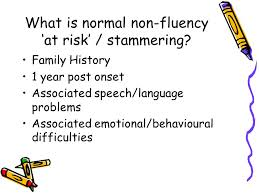 NORMAL NON FLUENCY 1